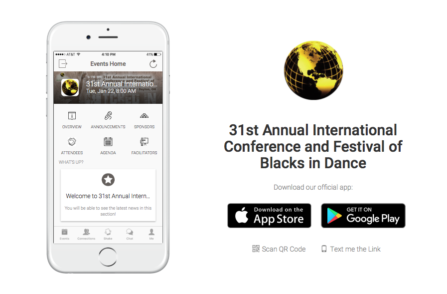 IABD 2019 Conference and Festival Mobile App