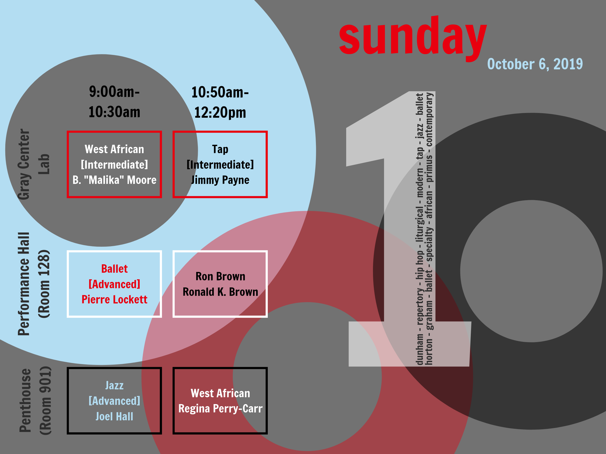 on the 1 - Sunday schedule