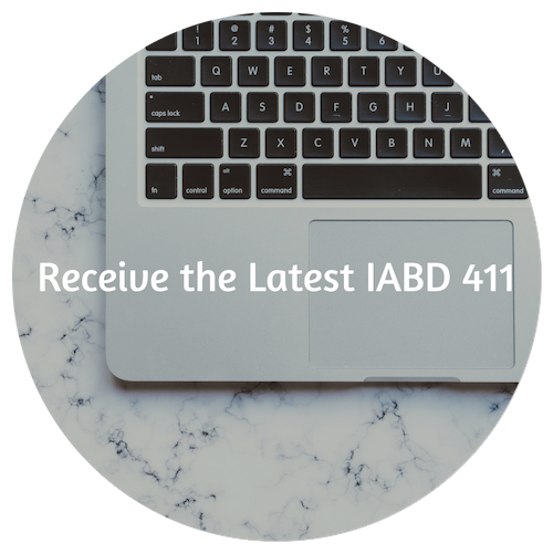 Receive the latest IABD 411!