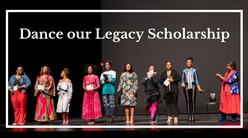 The Dance Our Legacy Scholarship
