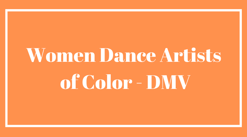 Women Dance Artists of Color-DMV