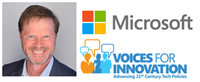 NYC Chapter Meeting: Guest Speaker - Voices for Innovation, David Pryor, Microsoft