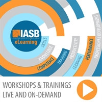 IASB Workshop:  Transforming Bland Virtual Talks into Sellable, Memorable Experiences