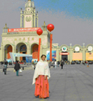 Veronica Zador in China