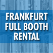 Frankfurt Book Fair - Booth Rental (Deadline: 07/31/19 or when sold out)