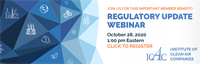 ICAC Regulatory Update Webinar