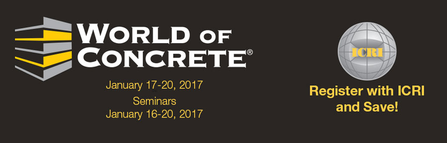 World of Concrete Header