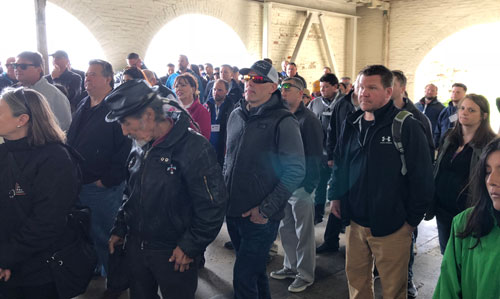 Alcatraz Tour during the 2018 ICRI Spring Convention