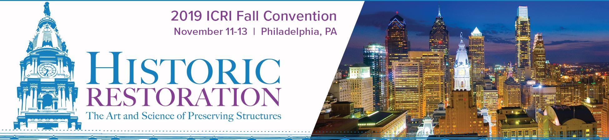 ICRI 2019 Fall Convention