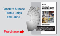 Concrete Surface Profile Chips