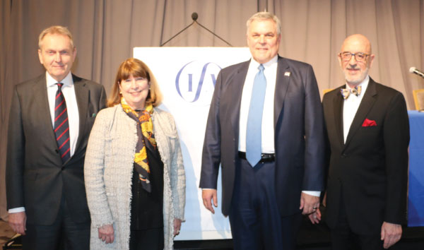 President Sol Coffino, IRS Commissioner Rettig, Carol Tello, Murray Clayson