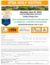 IFDA Golf Outing