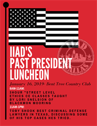 CE & Past President Luncheon