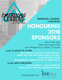 CE & Emerging Leaders Luncheon