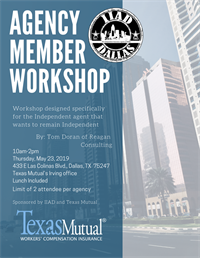 Reagan Consulting Agency Workshop