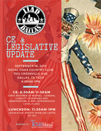 CE & Legislative Update Luncheon