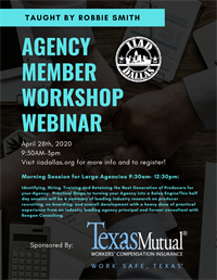 Agency Member Workshop by Robert Smith