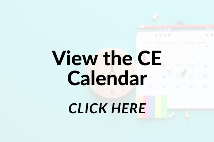 IIAW CE Course Calendar