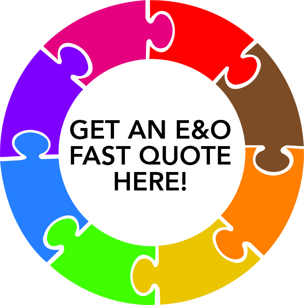E&O Fast Quote Graphic, colorful circle with multiple segments