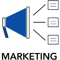 Marketing Logo, Megaphone