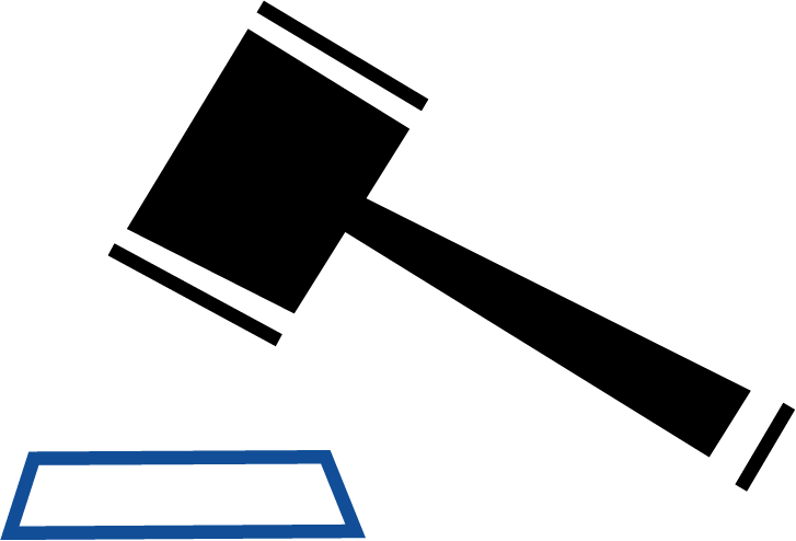Gavel or Mallet Graphic