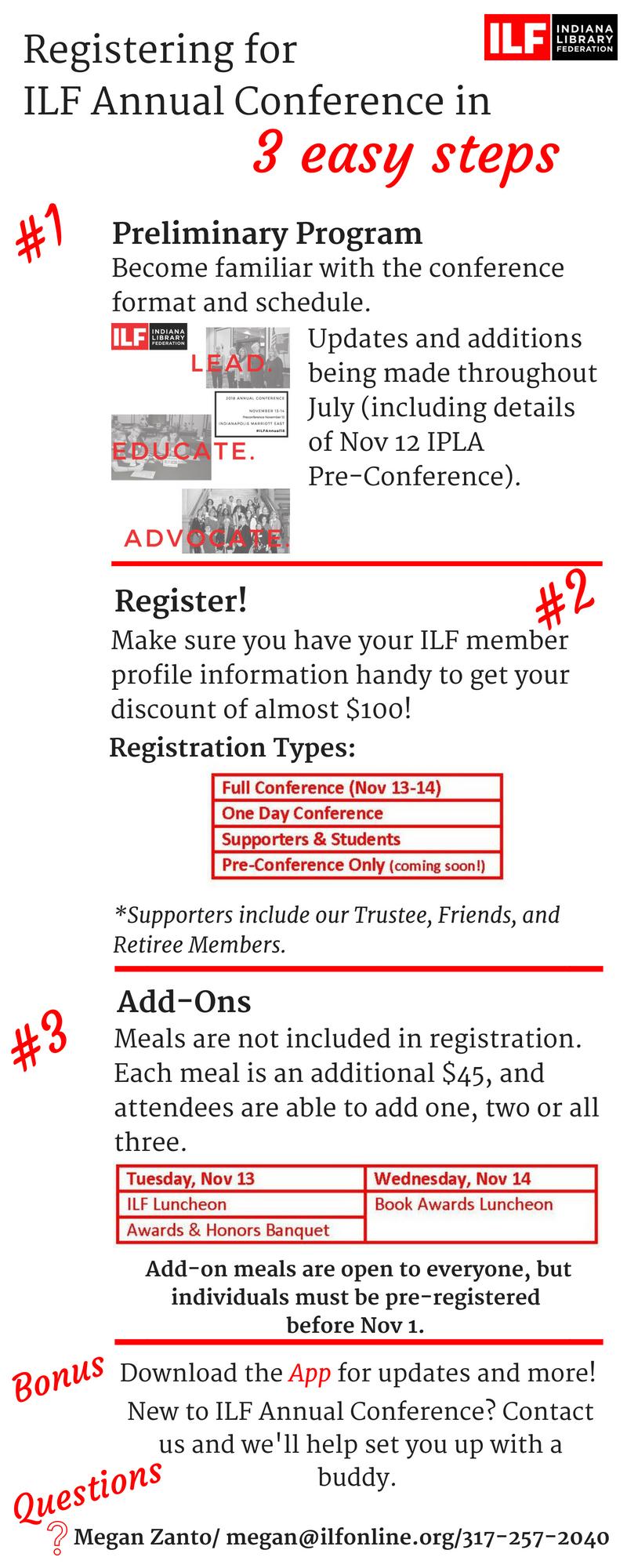 Registering in 3 easy steps