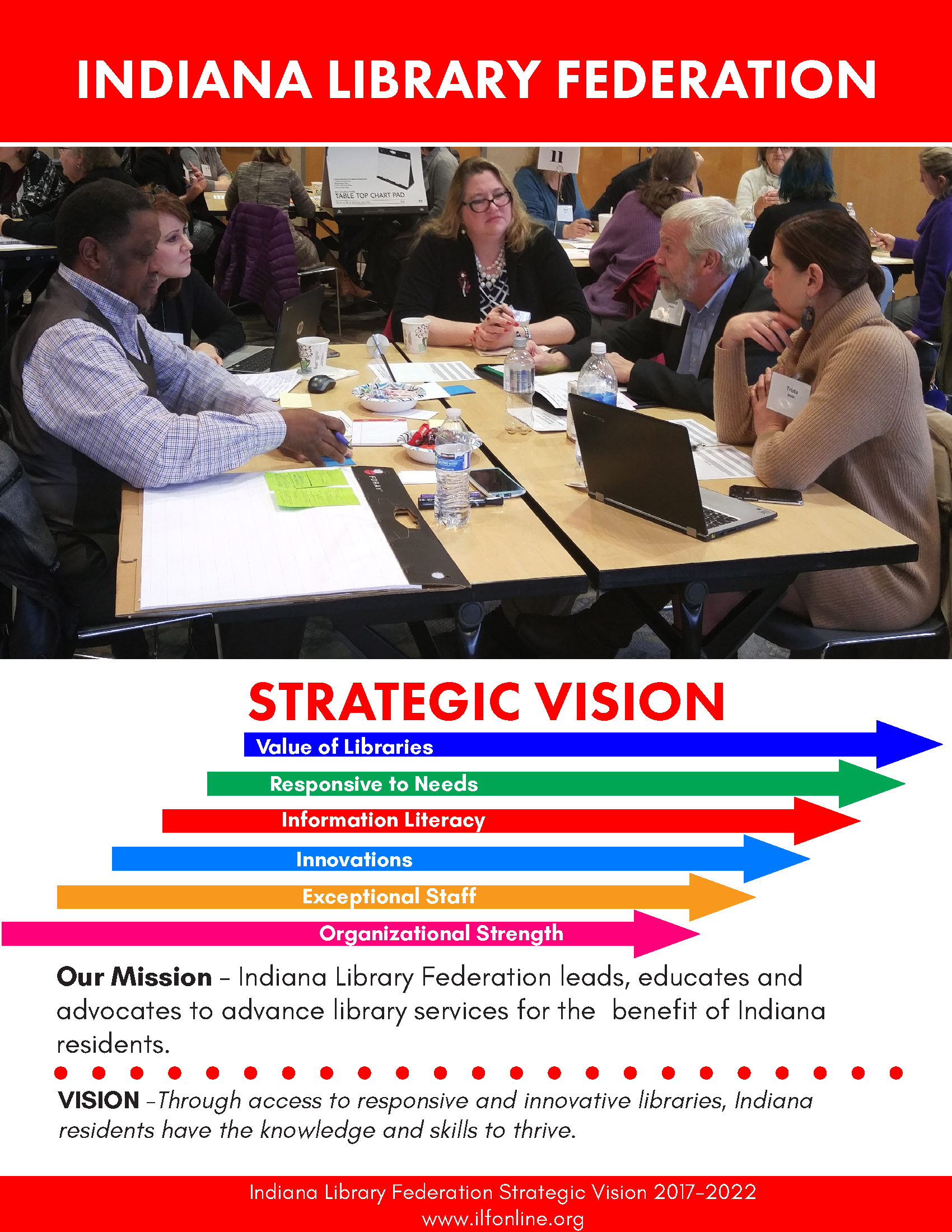 Front cover of ILF Strategic Vision document