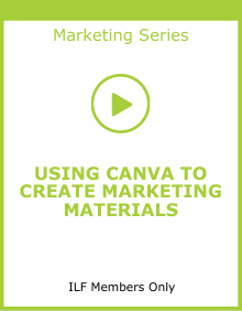 Using Canva to Create Marketing Materials link box
