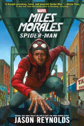 Miles Morales: Spiderman book cover