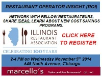 Restaurant Operator Insight (ROI) & Networking, Sponsored by Heartland & Total