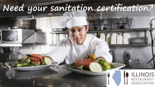 sanitation certification & renewal - illinois restaurant association