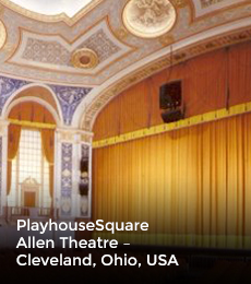 PlayhouseSquare Allen Theatre – Cleveland, Ohio, USA