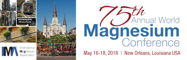 2018 World Magnesium Conference Logo