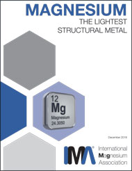 Magnesium Lightest Structural Metal