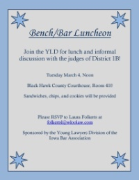 Bench/Bar Luncheon