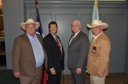 4 Texas IPA Region Presidents-Past R30 Pres. Jack Bragg, Dr. Wally Graves, current R30 Pres. Darrell Fant, R64 Pres. Ed Kassof