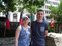 Donna Powell & Lee bates from UK at The Alamo