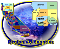 Region 40 Counties