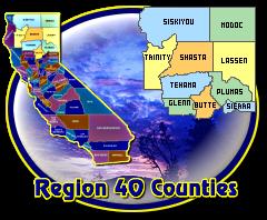 Region 40 Counties