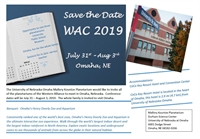 Western Alliance Conference (WAC 2019)