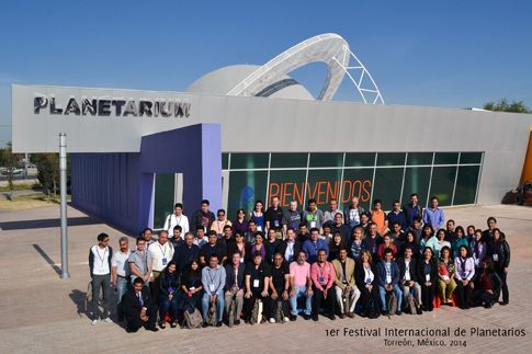 Group photo - first International Planetarium Festival