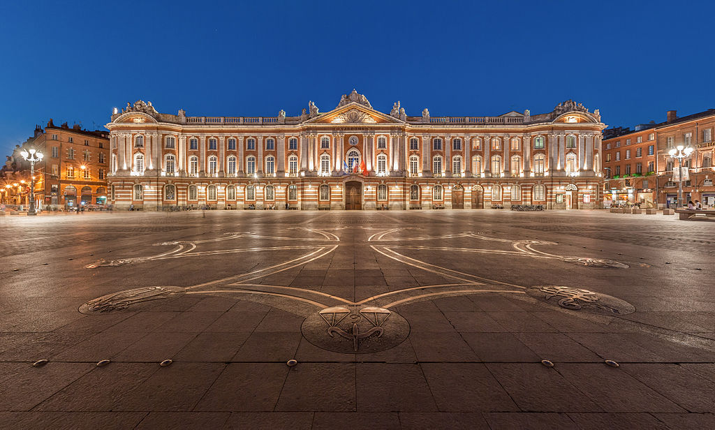 The Toulouse Capitole, photo by Benh Lieu Song, Wikimedia Commons