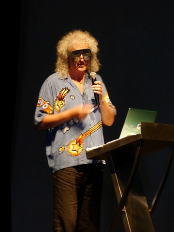 Astrophysicist Dr. Brian May
