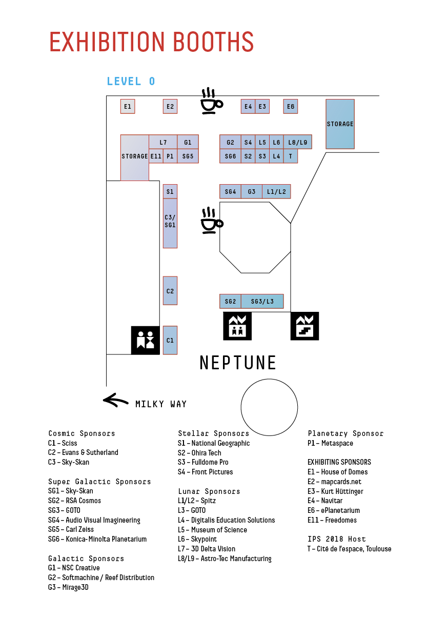 Exhibit space map IPS2016
