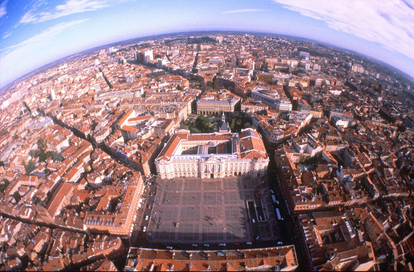 Toulouse, aerial view