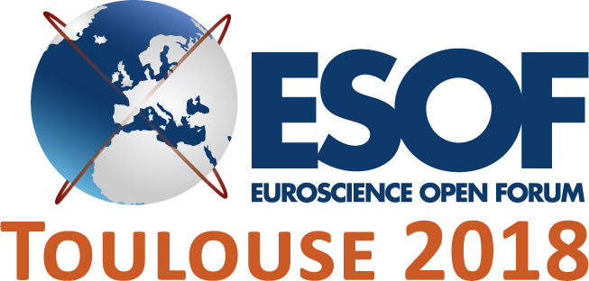Logo for euroscience open forum 2018