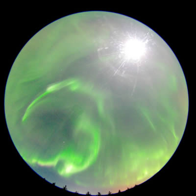 Athabasca aurora movie from 2015 Jan 7