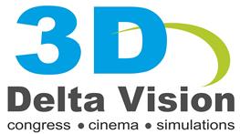 3D Delta Vision logo