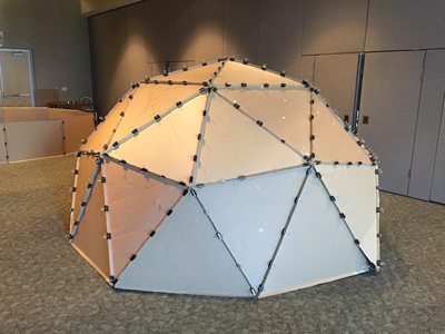 Cardboard Dome from Fred Kreiger