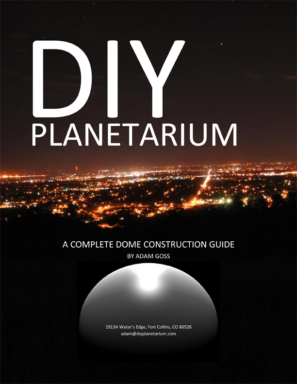Cover of DIY Planetarium guide